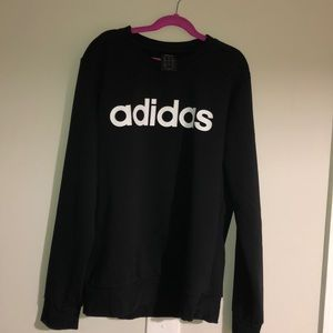 Adidas Crew Sweatshirt Women Size M